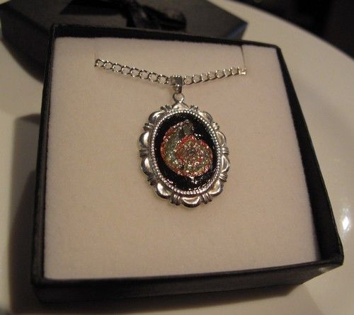 Silver Plated Caloceras Necklace 13